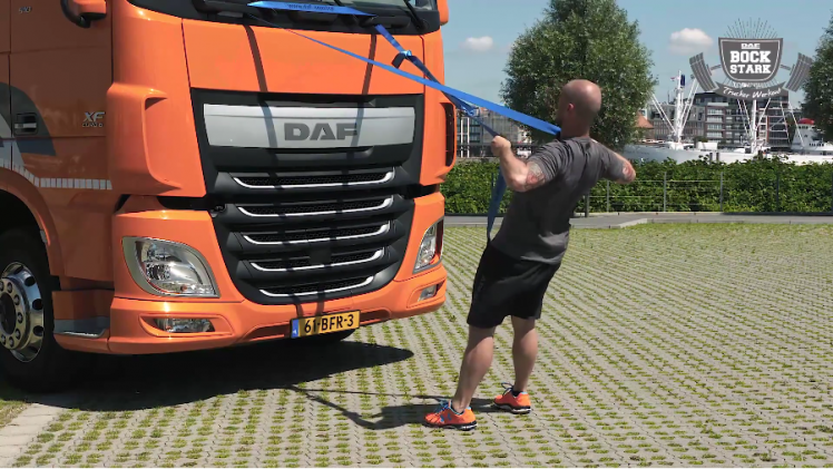 DAF Bockstark das Trucker Workout